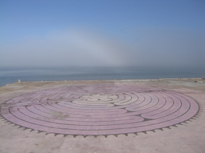 This labyrinth no longer exists, and is now a skateboard park.