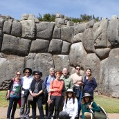 The group at Saqsayhuaman