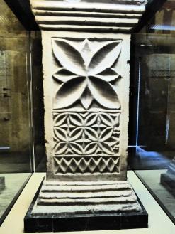 Sculptural detail inside El Mesquita, Cordob