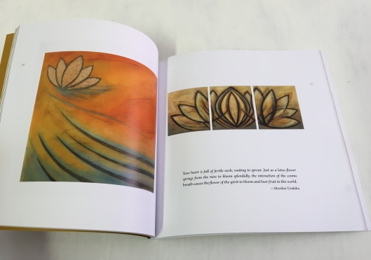 book page the lotus